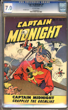 Captain Midnight #4  CGC  7.0  FN/VF  Universal CGC #0600464014