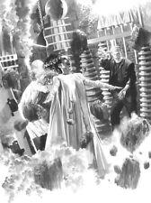 Alex Ross SIGNED Universal Monsters Sideshow Art Print ~ Bride of Frankenstein