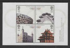 G.B. - 2008 BEIJING OLYMPICS M/S SUPERB UNMOUNTED MINT(MNH) SG.MS2861