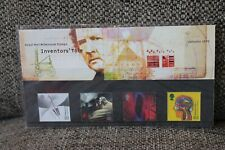 Royal Mail Mint stamps presentation pack Inventor's Tale 1999