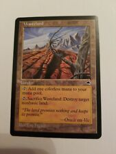 Tempest Uncommon Wasteland! Near Mint! Magic the Gathering MTG!