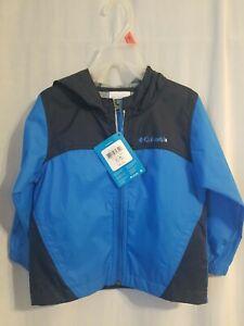 Columbia Raincoat Nwt 3t Blue