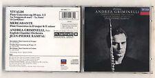 Cd ANDREA GRIMINELLI Vivaldi Mercadante Flute Concertos Jean Pierre Rampal Decca