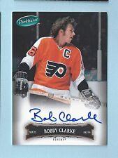 BOBBY CLARKE 2006/07 PARKHURST SIGNATURES AUTOGRAPH AUTO FLYERS
