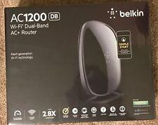 Belkin AC 1200 DB Wi-Fi Dual-Band AC+ Gigabit Router