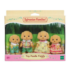 Sylvanian Families Toy Poodle Family NEW