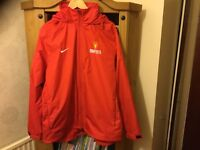 Manchester United Premier Cup World Finals Jacket 2013 - Ultra Rare - Size L