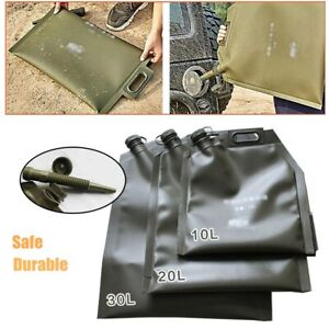 10L 20L 30L Gasoline Tank Collapsible Oil Bag Use for Emergency Spare Fuel Tank