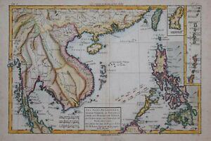 PHILIPPINES - LES ISLES PHILIPPINES.... FORMOSA.. BY RIGOBERT BONNE, CIRCA 1780.