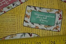 By 1/2 Yd, Shoes on Yellow Quilting Cotton, Tres Chic, Vintage Workshop, M7633