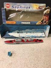 Vtg Matchbox Sea Kings K301 Frigate  K305 Subchaser 1976 Diecast Boat Ship & Box