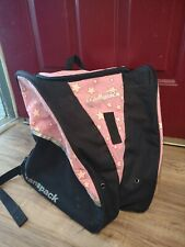 New listing Used Transpack XTW Downhill Ski Boot Bag, Ice Skate Carrier Pink Star