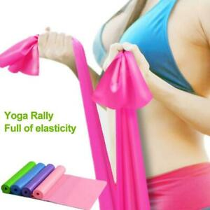 Exercise Fitness Resistance Bands Yoga Mat EXTRA THICK 6mm X 173cm 61 Non-Slip