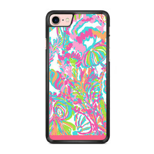 Lilly Pulitzer pink - Custom iPhone and samsung case