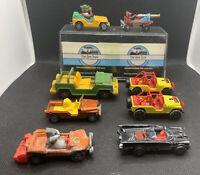 Joblot Of 8 Vintage Corgi Buggys Plus Buga Bunny, Batman,yogi Bear,Jerry Mouse