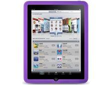 Silicone Skin Cover Case Purple For Apple iPad