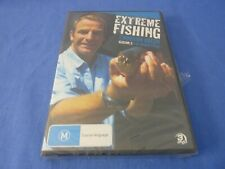 Extreme Fishing With Robson Green Season 3 The World Tour DVD R4 New Sealed