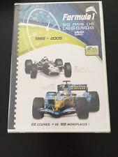 DVD FORMULE 1 50 ANS LEGENDE 1955 -2005 FERRARI MCLAREN MERCEDES NURBURGRING