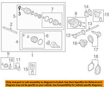 Hummer GM OEM 06-10 H3 Carrier Front Axles-Snap Ring 10359388