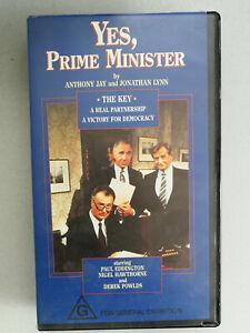 Yes, Prime Minister 'The Key' VHS Video Paul Eddington 1990