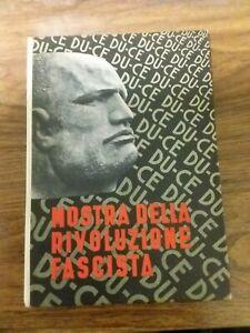 MOSTRA RIVOLUZIONE FASCISTA MARCIA SU ROMA 1933 (A4)