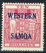 Single George VI (1936-1952) Samoan Stamps (Pre-1962)