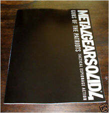 ARTBOOK METAL GEAR SOLID 4 UFFICIALE PROMO INTROVABILE