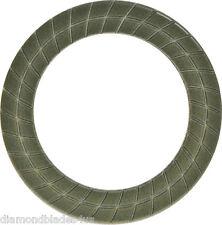 "50 Grit 7"" Ring Resin Grind Polish Edge Pad Concrete Floor Angle grinder"