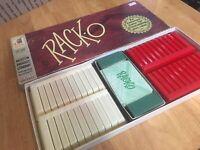 Vintage 1956 Rack-O 100% Complete Card Game Milton Bradley #4615 USA