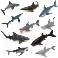 18 Type Ocean Sealife Animals Model Whale Shark Kids Learning Toy Childre