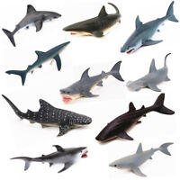 18 Type Ocean Sealife Animals Model Whale Shark Kids Learning Toy Children