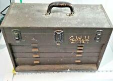 Rare Vintage Kennedy Brand 520 Machinist Toolbox (7-Drawer)