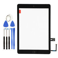 For 2018 iPad 6th Gen A1893 A1954 Black Touch Screen Digitizer Glass+Home Button