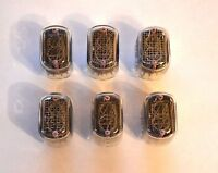 IN-12 6PCS NIXIE TUBES 100% GARANTY WORKING IN12 IN-12A IN-12B IN12A
