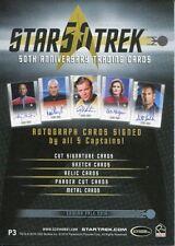 Star Trek 50th Anniversary [2017] Promo Card P3 Album Exclusive