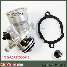 Engine Coolant Thermostat Housing Assembly for Mercedes Benz C250 2722000415 New