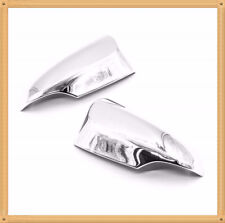 Chrome Door mirror Cover For 2012-2015 Toyota Yaris with turn signal cutout
