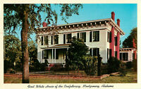 Postcard First White House Of The Confederacy Montgomery Alabama