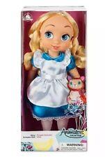 Disney Animators Alice In Wonderland Animator Collection Doll With Dinah - New