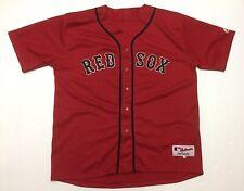 Vtg Rare Boston Red Socks #24 Red Jersey Size 52 Majestic MLB Baseball