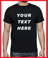 Custom Personalized T Shirts -print your TEXT, camisetas, Regular Sizes