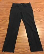 Athleta Ankle Pant Women's Size 2 45275 Zip Ankle Black
