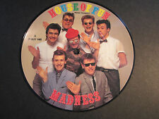 "Madness 7"" picture disc, House of Fun/Don't Look Back, A P-BUY 146,1982 EX vinyl"