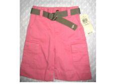 $35 New POLO RALPH LAUREN Capri Pants / Belt SET Baby Girls sz 6-12 M / Months