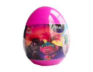 Surprise Egg Trolls Character  - Kids Gift Bundle Party Bag Filler Toy