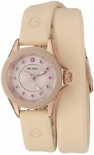 MICHELE Women's Cape Mini Double Wrap Blush Pink Watch MWW27B000001