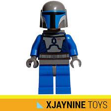 GENUINE LEGO STAR CLONE WARS Death Watch Jedi Hunter Minifig + Blaster Gun