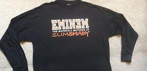 Eminem Slim Shady Vintage Deadstock L/S T-Shirt Excellent Condition XL