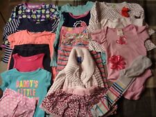 Lot of 19 pieces, girls 24 months clothing outfits