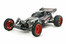 Tamiya - RC DT03 Chassis Black Edition Kit, w/ Racing Fighter Body